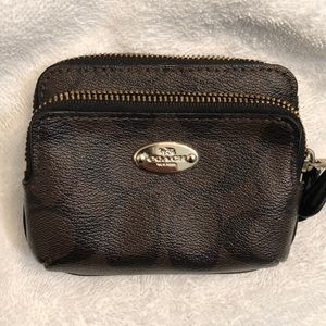 Coach credit card or money wallet